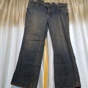 GAP low rise capri jeans sz 16R